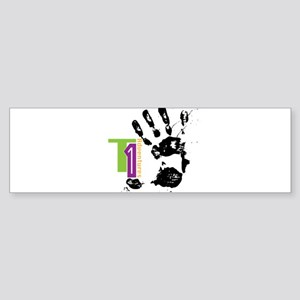 FingerPrick Bumper Sticker