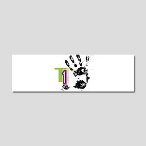 FingerPrick Car Magnet 10 x 3