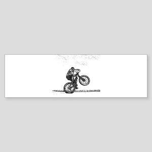 Wheelie Bumper Sticker