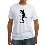 Lizard Gifts Fitted T-Shirt