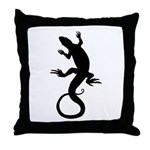 Lizard Gifts Throw Pillow