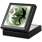 Lizard Art Keepsake Box Cool Reptile Box