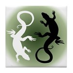 Lizard Gifts Tile Coaster