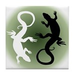 Lizard Gifts Tile Coaster