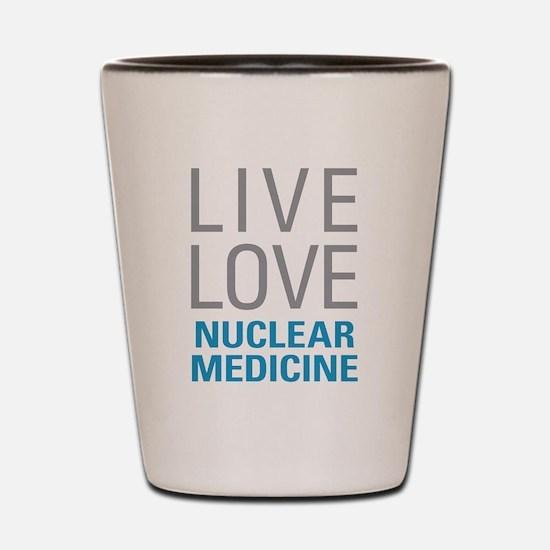 Nuclear Medicine Shot Glass