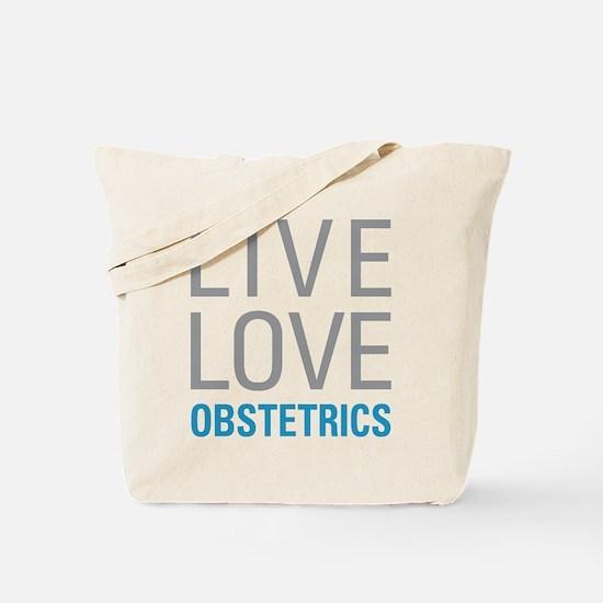 Live Love Obstetrics Tote Bag