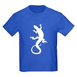 Lizard Gifts Kids Dark T-Shirt Reptile Art Shirt