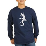 Lizard Gifts Long Sleeve Dark T-Shirt