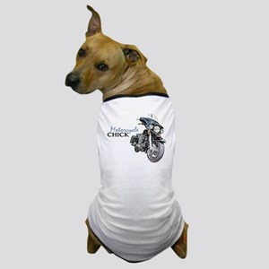 Chick Motorcycle Dog T-Shirt