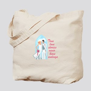TRUE LOVE STORIES Tote Bag