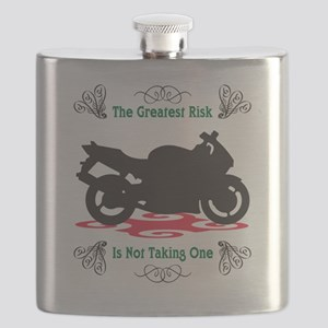 Taking A Risk Flask