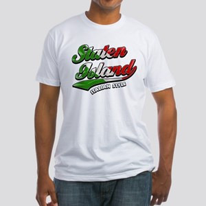 Staten Island Italian Style Fitted T-Shirt