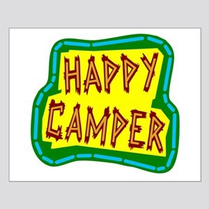 Happy Camper Posters Small Poster