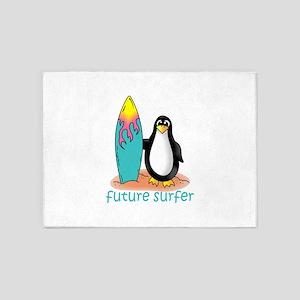Future Surfer 5'x7'Area Rug