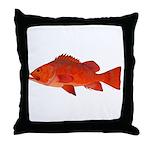 Vermilion Rockfish v2 Throw Pillow
