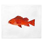 Vermilion Rockfish v2 King Duvet