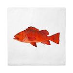 Vermilion Rockfish v2 Queen Duvet
