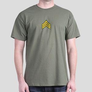 """Army E5 """"Class A's"""" Dark T-Shirt"""