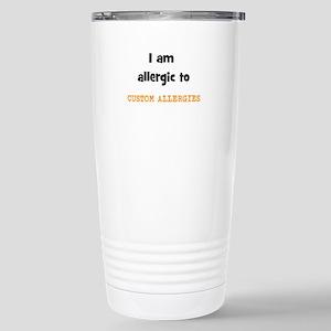 CUSTOM ALLERGY Travel Mug