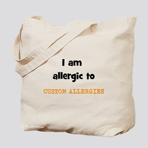 CUSTOM ALLERGY Tote Bag