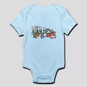 Life's A Garden Dig It! Body Suit