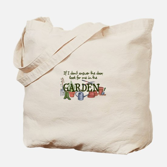 If I Don't Answer The Door Tote Bag