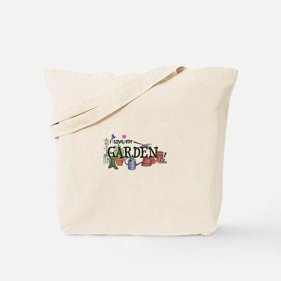 I Love My Garden Tote Bag