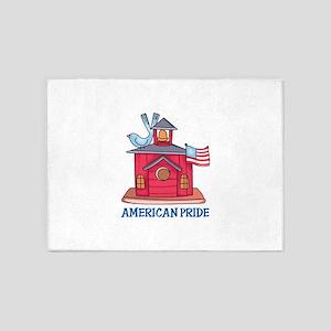 AMERICAN PRIDE 5'x7'Area Rug