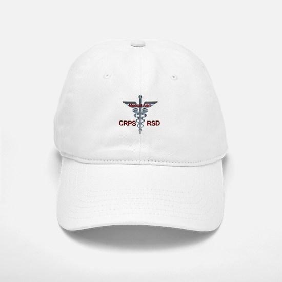 CRPS / RSD Medical Alert Asclepius Caduceus Baseball Baseball Cap