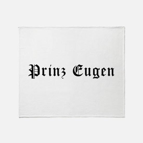 Prinz Eugen Throw Blanket