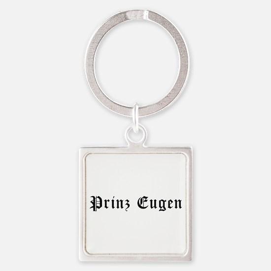 Prinz Eugen Square Keychain