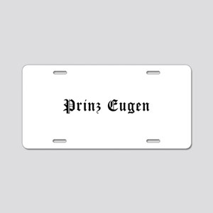 Prinz Eugen Aluminum License Plate