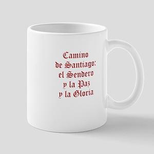 Sendero, Paz, Gloria In Red Mugs