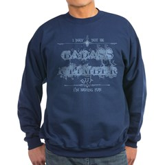 Climbing Word Scramble Sweatshirt (dark)