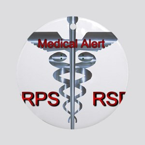 CRPS / RSD Medical Alert Asclepiu Ornament (Round)