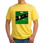 dip warning Yellow T-Shirt