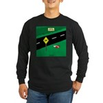 dip warning Long Sleeve Dark T-Shirt