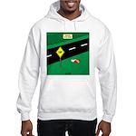 dip warning Hooded Sweatshirt