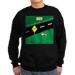 dip warning Sweatshirt (dark)
