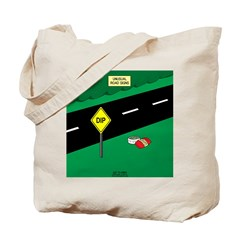 dip warning Tote Bag