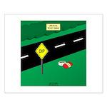 dip warning Small Poster