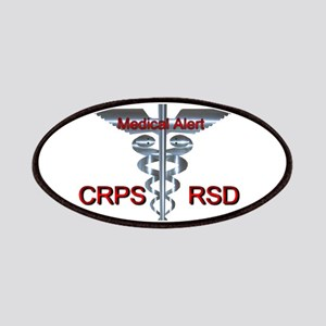 CRPS / RSD Medical Alert Asclepius Caduceus Patch