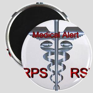 CRPS / RSD Medical Alert Asclepius Caduceu Magnets