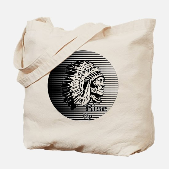 Rise Up - Be A Warrior Tote Bag