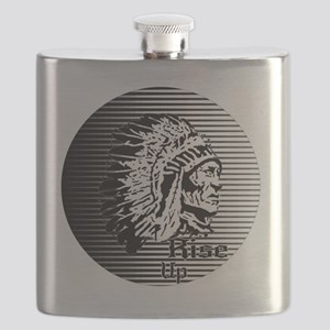 Rise Up - Be A Warrior Flask