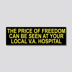 Thank a Veteran! - Price of Freedom Car Magnet 10