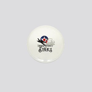 Red Tails Mini Button