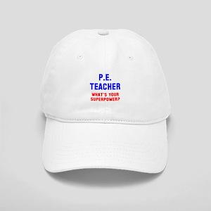 PE Teacher superpower Cap