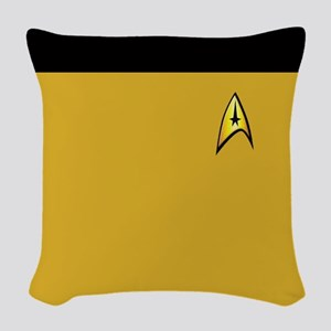 Classic Captain Woven Throw Pillow