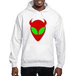 Evil Alien Hooded Sweatshirt